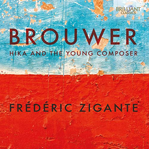 Cover Brouwer Hika and the young composer Frederic Zigante
