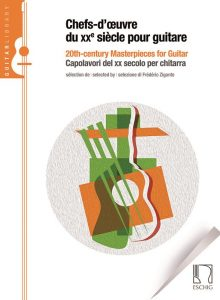 cover chefs d'oeuvres by Frédéric Zigante