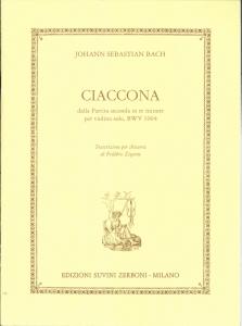 BACH CIaccona Suvini Zerboni by Frédéric Zigante