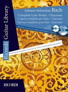 Cover Bach edizione Ricordi by Frédéric Zigante