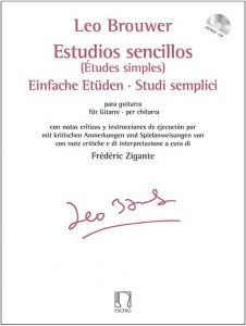 Cover Brouwer estudios sencillos versione it by Frédéric Zigante