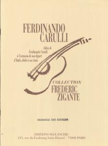 CARULLI Adieux by Frédéric Zigante