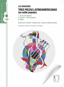Cover Tres Piezas Latinoamericanas by Frédéric Zigante