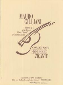 GIULIANI VAriazioni 0p 87 by Frédéric Zigante