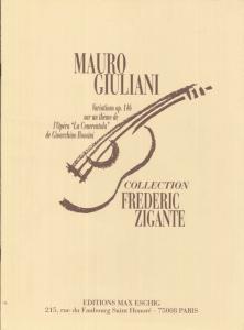GIULIANI VAriazioni op. 146 by Frédéric Zigante