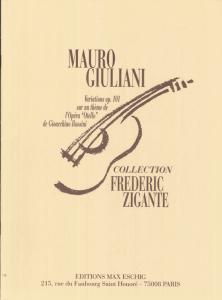 GIULIANI Variazioni op 101 by Frédéric Zigante