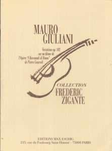 GIULIANI Variazioni. op 102 by Frédéric Zigante