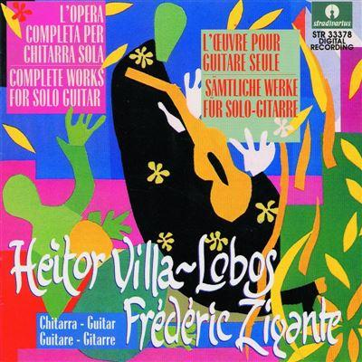 Cover Heitor VILLA-LOBOS Frederic Zigante