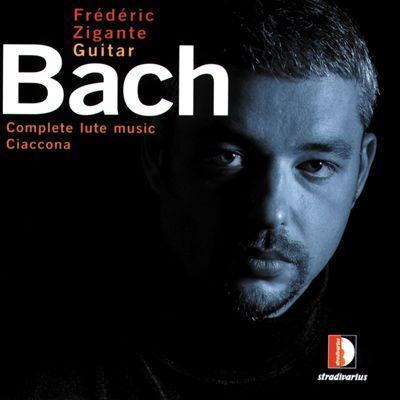 Cover Frederic Zigante BACH Ciaccona