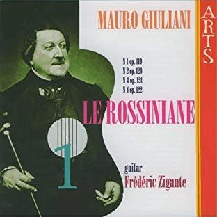 Cover Mauro Giuliani Le Rossiniane volume 1
