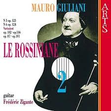 Cover Mauro Giuliani Le Rossiniane volume 2