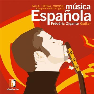 Cover MUSICA ESPANOLA FALLA TURINA MOMPOU