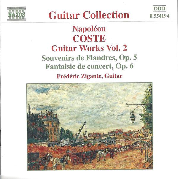 Cover Napoleon COSTE Guitar music Vol.1