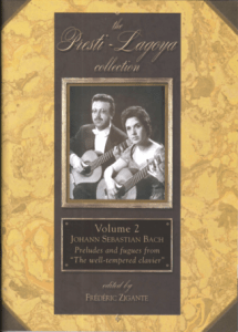 The Presti-Lagoya Collection Bach Vol. 2 by Frédéric Zigante