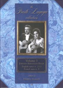 The Presti-Lagoya Collection Bach Vol. 3 by Frédéric Zigante