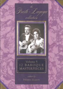 The Presti-Lagoya Collection Vol. 5 by Frédéric Zigante