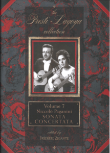 The Presti-Lagoya Collection Paganini Vol. 7 by Frédéric Zigante