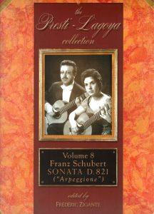 The Presti-Lagoya Collection Schubert Vol. 8 by Frédéric Zigante
