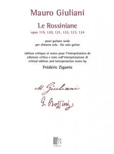 Cover Mauro Giuliani Le Rossiniane by Frédéric Zigante