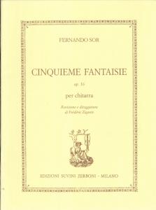 SOR Fantaisie op 16 SUVINI ZERBONI by Frédéric Zigante