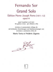 Cover Fernando Sor gran solo by Frédéric Zigante