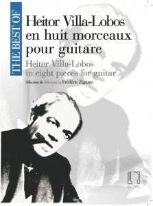 Cover The Best Of Villa Lobos by Frédéric Zigante