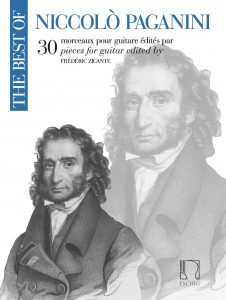 Cover The Best of Paganini by Frédéric Zigante